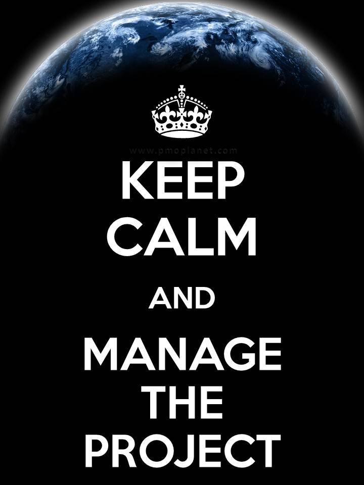 Keep Calm Manage Project
