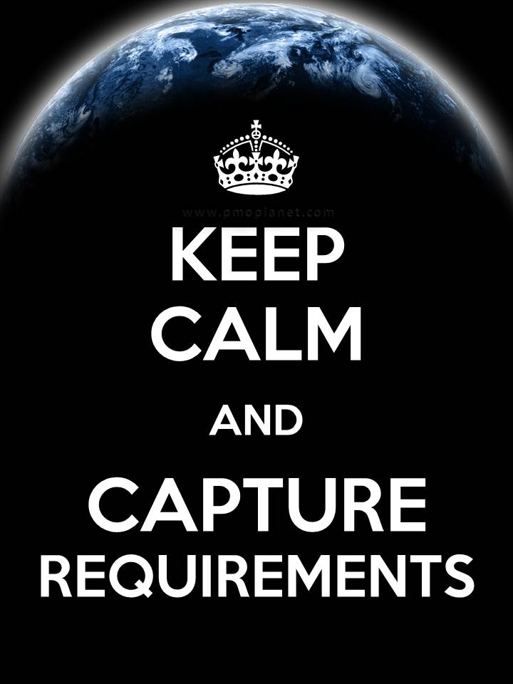 Keep Calm Requirements
